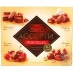 Candy Roshen Mix in milk chocolate 203g in a box Ukraine