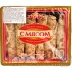 Млинці Морозко з м'ясом заморожені 370г Росія