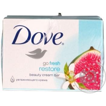 Крем-мыло Dove Инжир и лепестки апельсина 135г