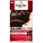 Cream-paint Palette Salon colors dark chocolate for hair Germany