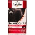 Крем-фарба Palette Salon Colors 1-0 Чорний