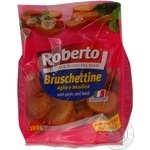 Roberto Bruschettine Rusks with Garlic and Basil 100g