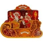 Подарунок новорічний Roshen Санчата Діда Мороза №11 750г