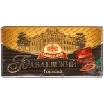 Chocolate black Confectionary concern babaevsky bars 100g Russia