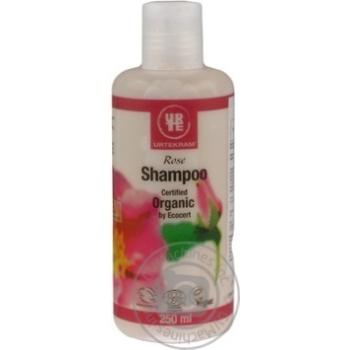 Shampoo Urtekram with rose extract for hair 250ml Denmark