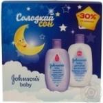 Набір Johnsons Baby Солодкий сон Піна для купання+молочко