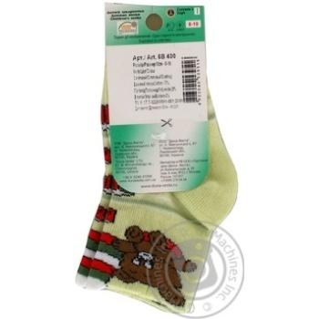 Носки Дюна детские салатовые 8-10р - купить, цены на Фуршет - фото 2