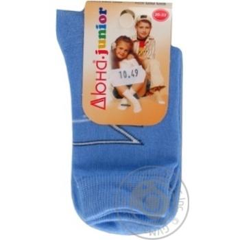 Duna Light Gray Children's Socks 22-24s - buy, prices for Furshet - image 3