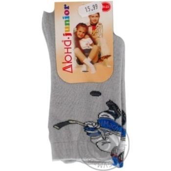 Шкарпетки дитячі 5В405 р.20,22 Дюна в асорт.
