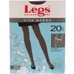 Колготи жіночі Legs Vita Bassa 20d Daino №4
