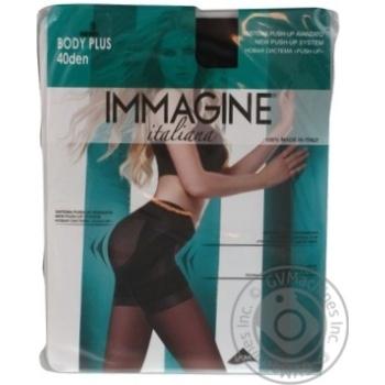 Immagine Body Plus Nero Women's Tights 40den 3s