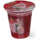 Желе Джоліно Кідз з соком малини 130г пластиковий стакан Україна