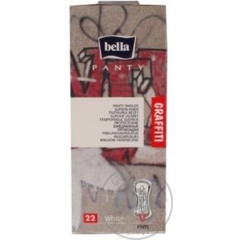 Прокладки щоденні Bella Panty Graffiti white 22шт