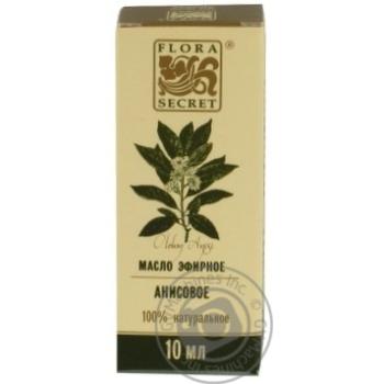 Олія ефірна Flora Secret анісова 10мл - купить, цены на Novus - фото 1