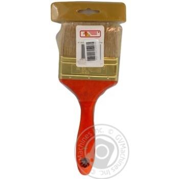Пензлик флейцевий 90*17,5*50мм.InterTool - купить, цены на Novus - фото 4