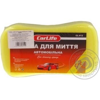 Губка для миття автомобіля з дрібними порами CarLife Soft - купити, ціни на Novus - фото 1