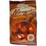 Цукерки шоколадні Erasmi з мигдальною нугою 135г