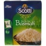 Рис індійський Basmati Scotti в пакетах 500г