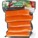 Carrot Slavjanka whole fresh washed peeled 500g