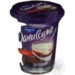Dessert Danissimo curd with chocolate chilled 9.5% 340g Ukraine
