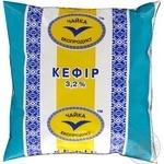 Кефир Чайка 3.2% 500г пленка Украина