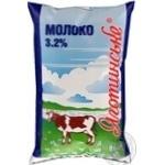 Молоко Яготинское пастеризованное 3.2% 900г