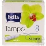 Tampons Bella for women normal 8pcs - buy, prices for Novus - image 1