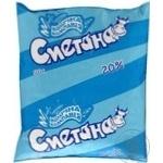 Сметана Молочная компания 20% 500г пленка Украина