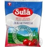 Lollipop Sula Nature's favor wild cherry sugar free for diabetics 60g packaged Russia