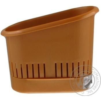 Сушилка для столового приладдя Plast Team Блакитна - купити, ціни на Novus - фото 5