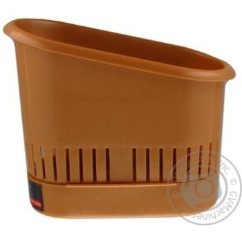Сушилка для столового приладдя Plast Team Блакитна - купить, цены на Novus - фото 6