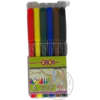 ZiBi Markers 6 colors - buy, prices for CityMarket - photo 4
