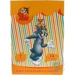 Папір кольоровий крейдований 14арк.А4 Cool for School Tom and Jerry TJ02210