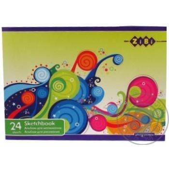 Альбом ZiBi для рисования 24 листа - купить, цены на Novus - фото 3