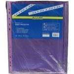 Файл для документів А4 BuroMax 40мкм фіолетова 100шт