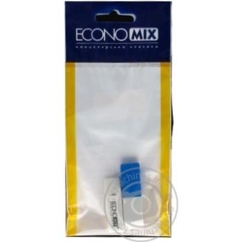 Набір ластиків Economix для видалення олівця та чорнил 2шт
