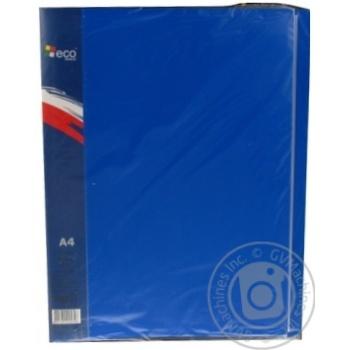 Папка пластикова на 40 файлів Eco Eagle А4 700мкм 1004-01