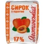 Творожок Яготинский с курагой 17% 230г Украина