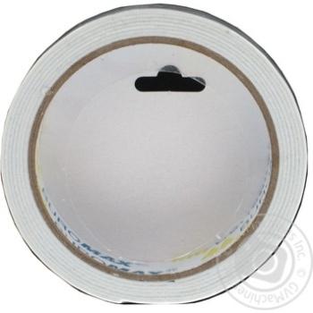 Скотч двухсторонний BuroMax 18мм*2м на вспененной основе 1шт - купить, цены на Novus - фото 2