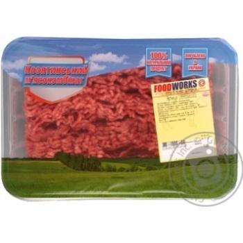 Фарш Food Works мясной домашний