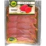Slices tuna K.i.t. cutting 180g vacuum packing Ukraine