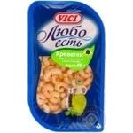 Морепродукты креветка Вичи Любо есть маринованная 400г Россия