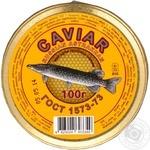 Caviar Caviar pike salt 100g glass jar Ukraine