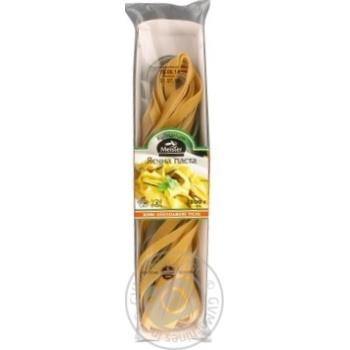 Паста яичная Kulinarium Meister живое охлажденное тесто 250г - купить, цены на Ашан - фото 1