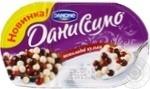 Йогурт Даниссимо Фантазия сливочный 8.3% 91г шарики в шоколаде 9г