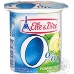 Elle&Vire With Green Apple Milky Dessert 0%