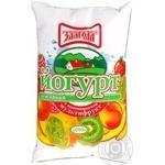 Йогурт Злагода Мультифрукт нежирный 1000г пленка Украина