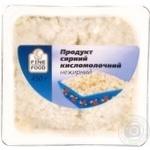 Творожный продукт Файн Фуд нежирный 450г ванночка Украина