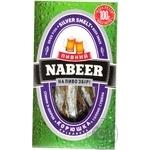 Горбуша Пивной NABEER филе-соломка солено-сушеная 100г Украина