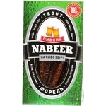 Форель Пивной NABEER филе-соломка солено-сушеная 100г Украина